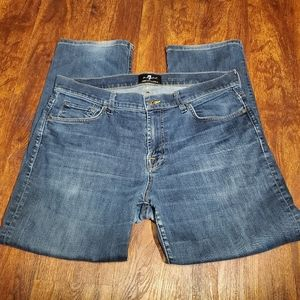 7 For All Mankind Carsen Jeans Size 36 Men's